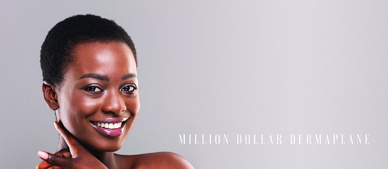 Million Dollar Dermaplane Treatment