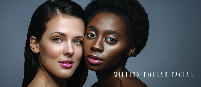 Million Dollar Facial Treatment